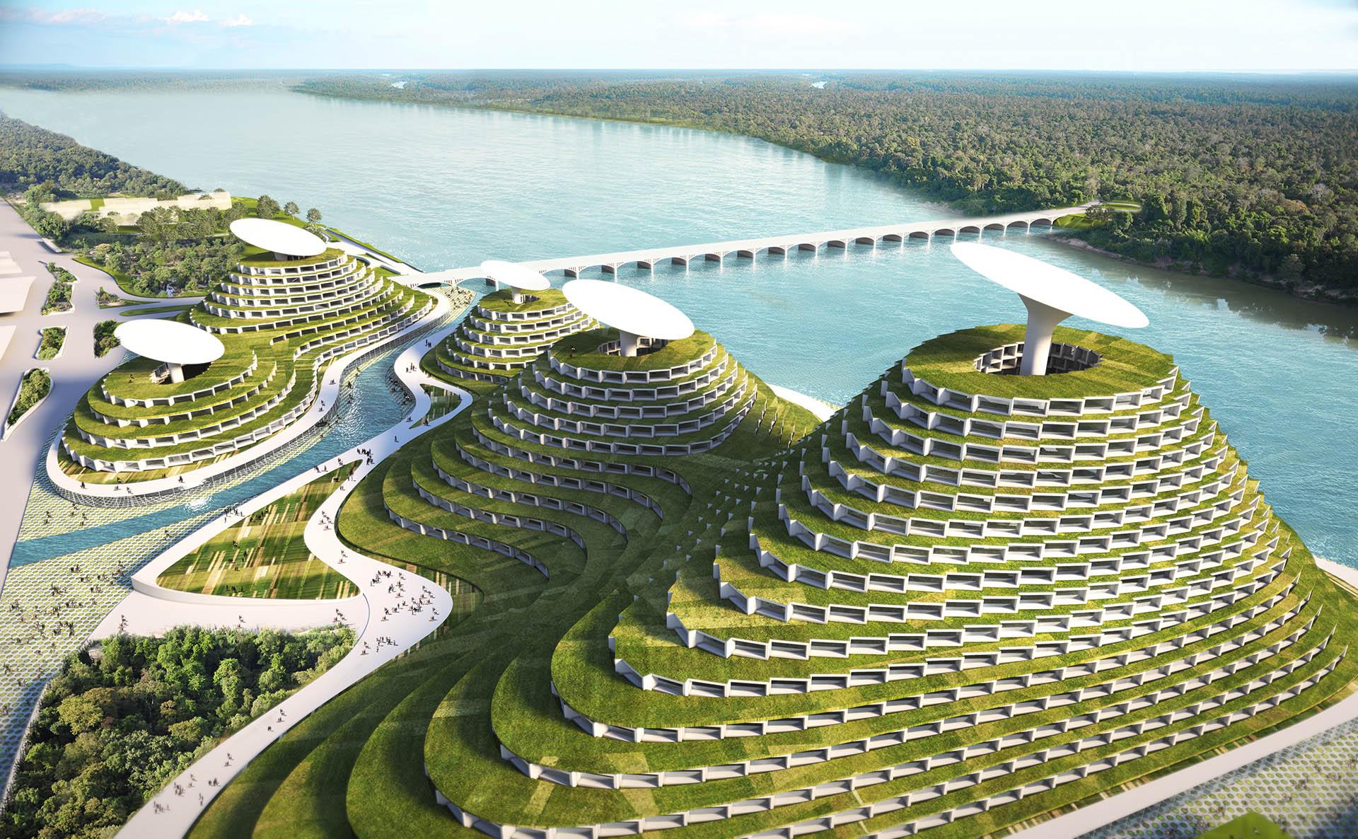 Smart City In Detroit :: Future Architecture