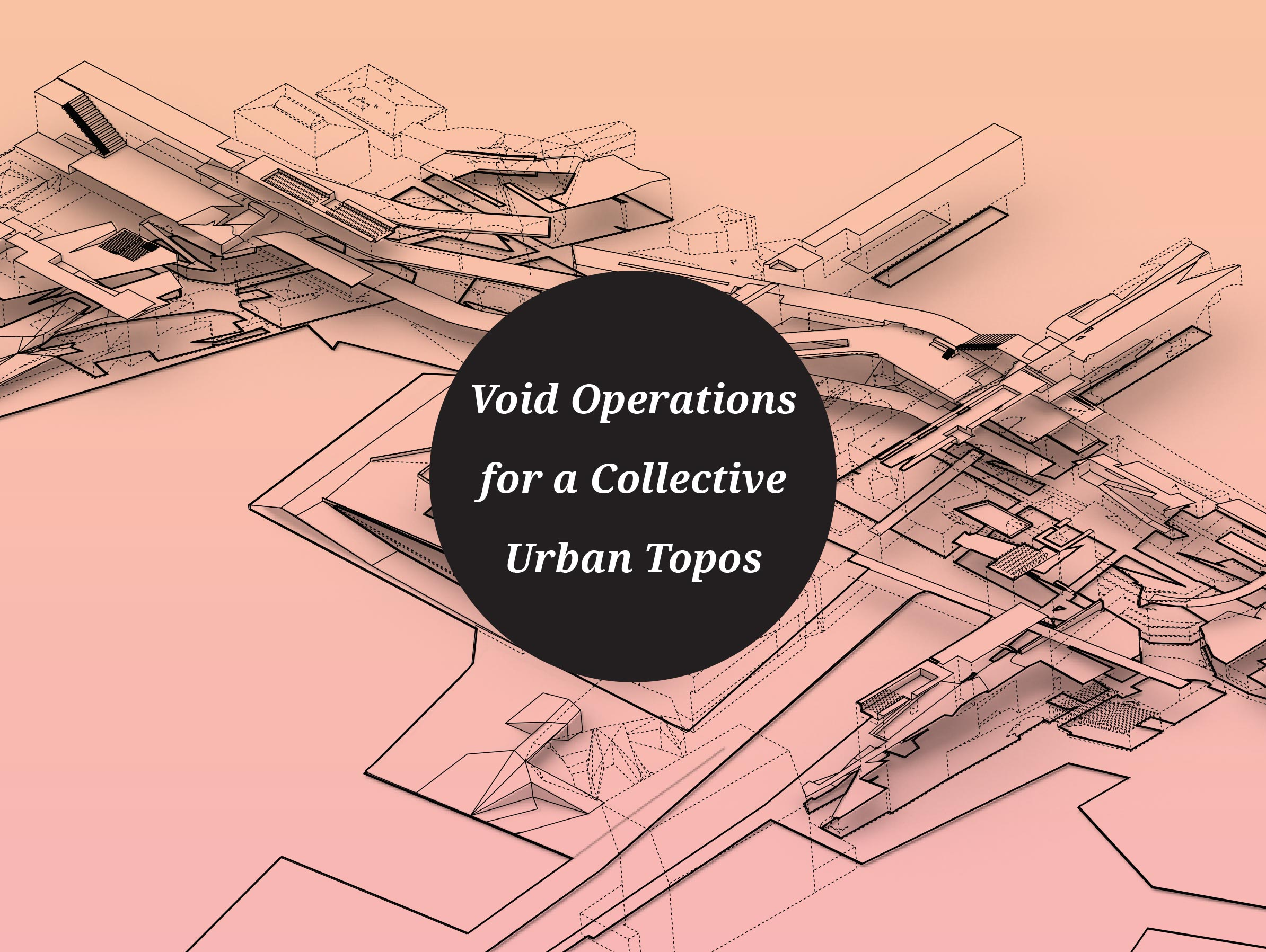 Void Operations for a Collective Urban Topos