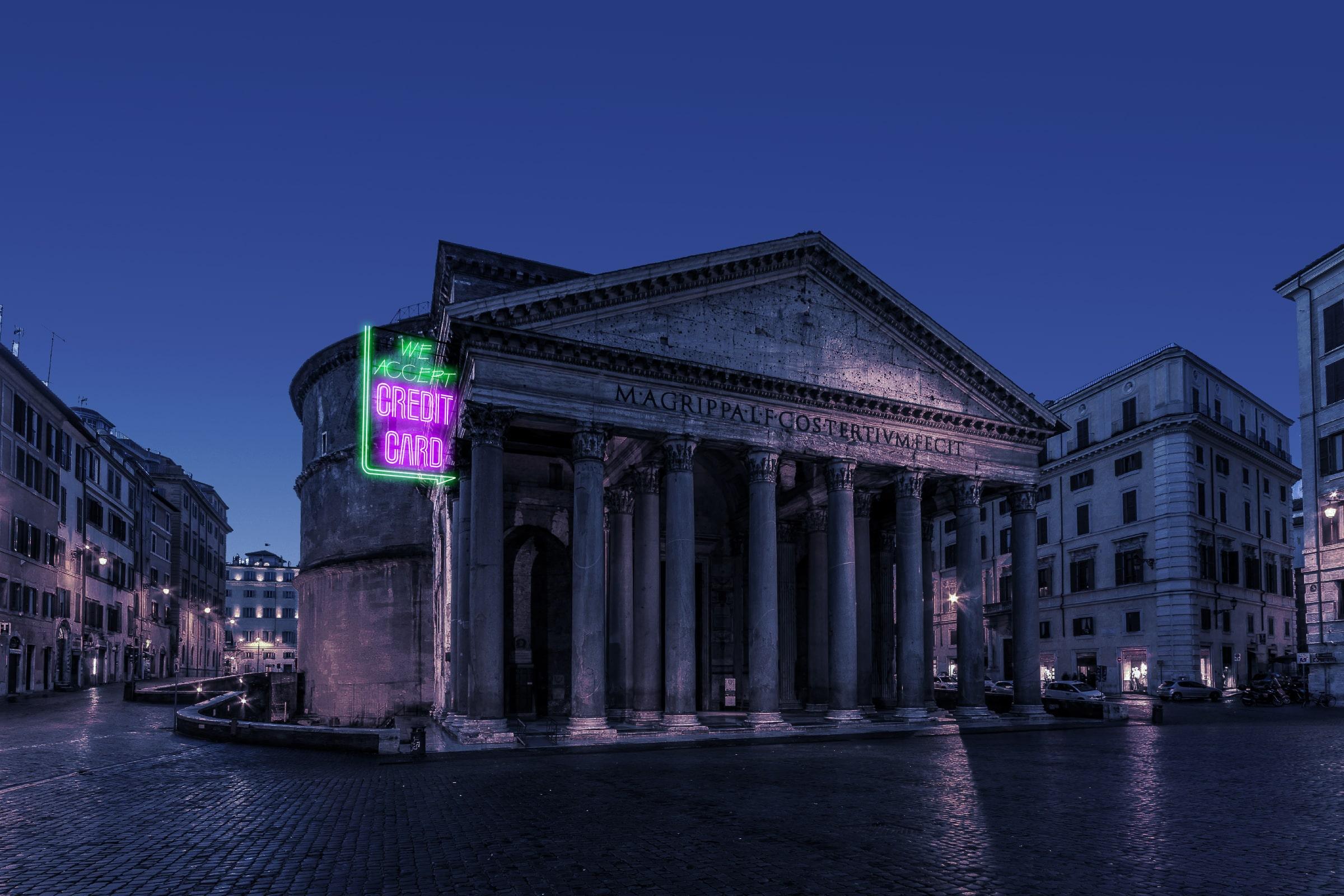 Neon Rome :: Future Architecture