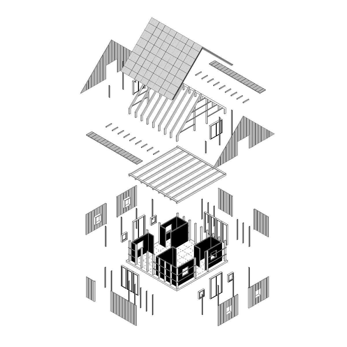 Prefab) Prototype House: :: Future Architecture on component identification, component symbols, component audio, component architecture, component parts, component wire, component cartoon, component form, component icon,